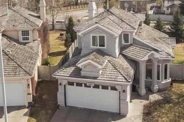 161 Carlson Close, Edmonton, AB T6R 2J7 (#E4242991) :: Initia Real Estate