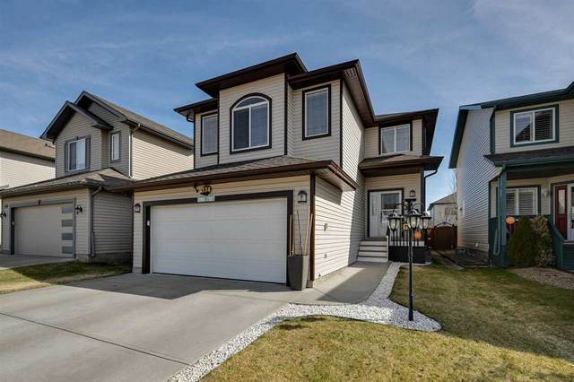 134 Wisteria Lane, Fort Saskatchewan, AB T8L 0B4 (#E4243038) :: Initia Real Estate