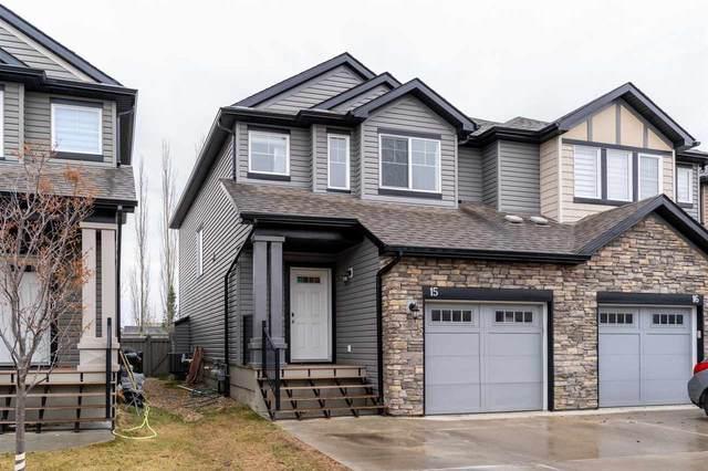 15 6835 Speaker Vista, Edmonton, AB T6R 0S6 (#E4243042) :: Initia Real Estate