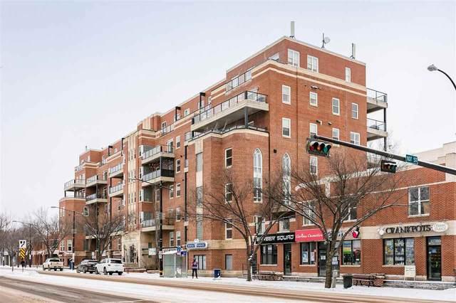 505 10728 82 Avenue, Edmonton, AB T6E 6P5 (#E4243047) :: Initia Real Estate
