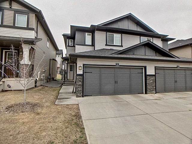 21 - 21 Augustine Crescent, Sherwood Park, AB T8H 0X3 (#E4243053) :: The Foundry Real Estate Company