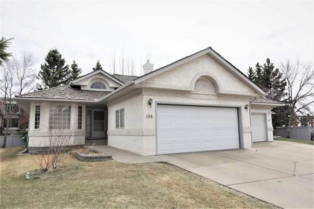 106 ironwood Place NW, Edmonton, AB T6J 6R4 (#E4243078) :: Initia Real Estate