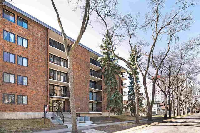 500 11011 86 Avenue, Edmonton, AB T6G 0X1 (#E4243083) :: Initia Real Estate