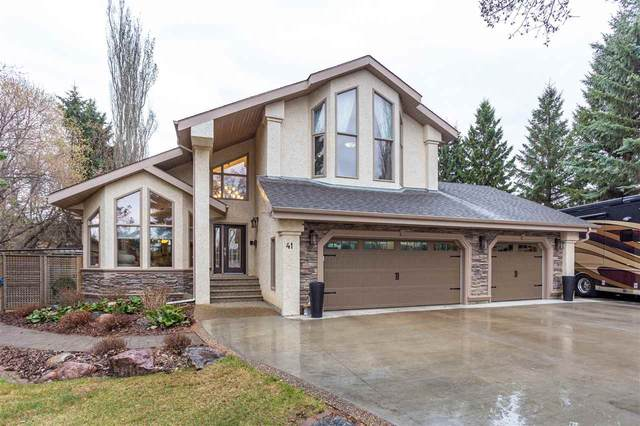 41 East Estate Way, Rural Sturgeon County, AB T8T 0C7 (#E4243105) :: The Good Real Estate Company