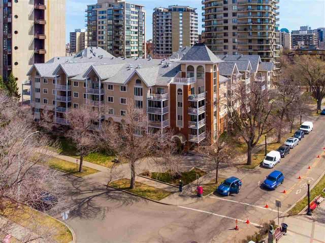 201 11716 100 AV, Edmonton, AB T5K 2G3 (#E4243145) :: The Foundry Real Estate Company
