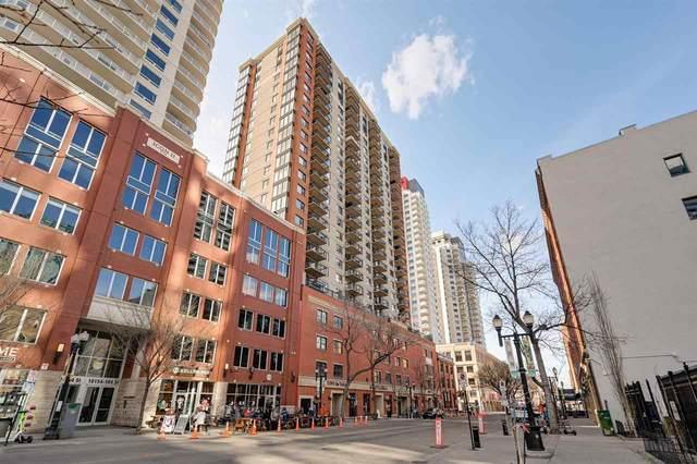 1708 10180 104 Street, Edmonton, AB T5J 1A7 (#E4243198) :: The Good Real Estate Company
