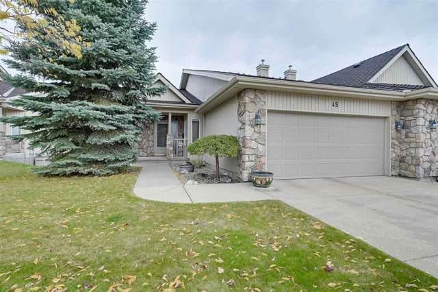45 929 Picard Drive, Edmonton, AB T5T 6J7 (#E4243206) :: Initia Real Estate