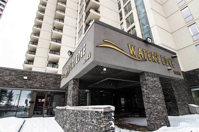 1404 10149 Saskatchewan Drive, Edmonton, AB T6E 6B6 (#E4243231) :: Initia Real Estate