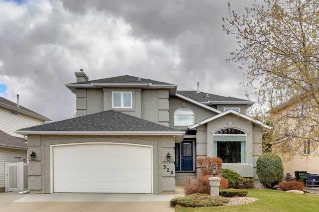 328 Hollick-Kenyon Road, Edmonton, AB T5Y 2T4 (#E4243261) :: Initia Real Estate