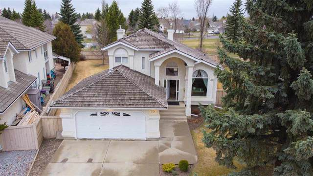 20 Essex Close, St. Albert, AB T8N 5S9 (#E4243273) :: The Good Real Estate Company