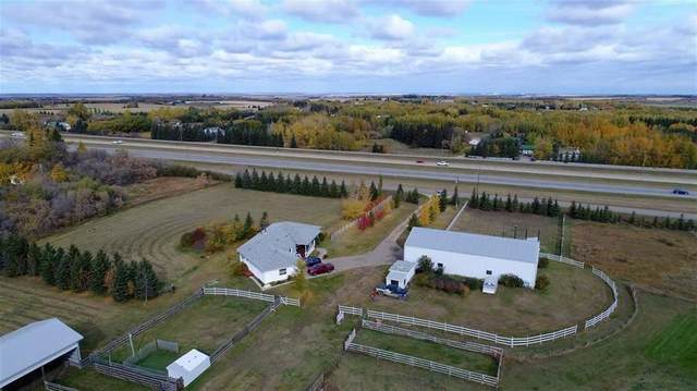 22249 Hwy 16, Rural Strathcona County, AB T8E 2M4 (#E4243279) :: The Good Real Estate Company