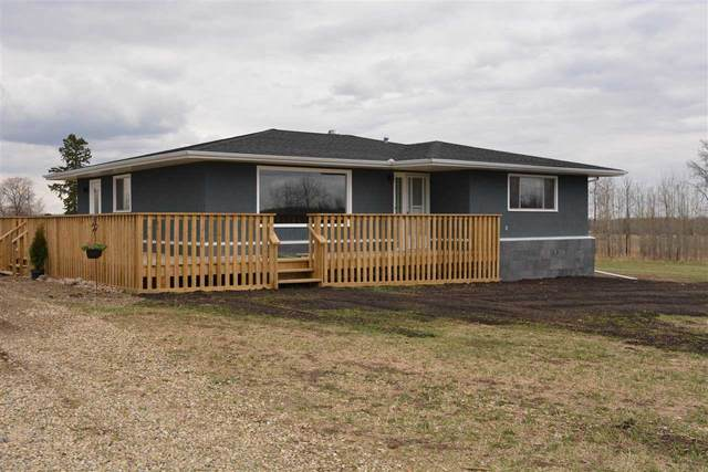 54114 Rge Rd 34, Rural Lac Ste. Anne County, AB T0E 0A0 (#E4243300) :: The Good Real Estate Company