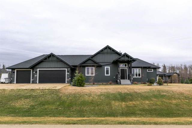 2039 Spring Lake Drive, Rural Parkland County, AB T7Z 0G8 (#E4243305) :: The Good Real Estate Company