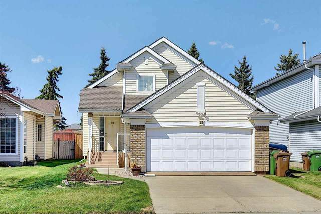 59 Delage Crescent, St. Albert, AB T8N 6J5 (#E4243328) :: The Good Real Estate Company