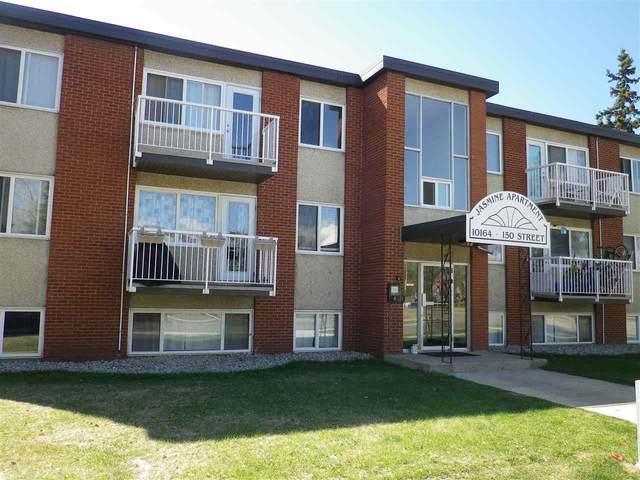 9 10164 150 Street, Edmonton, AB T5P 1P1 (#E4243344) :: The Good Real Estate Company