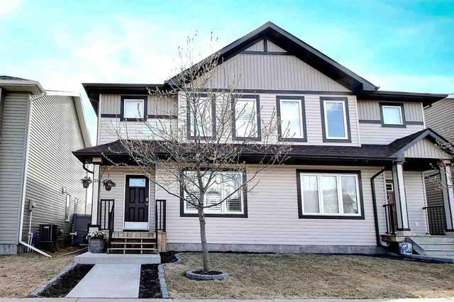 21 Radcliffe Wynd, Fort Saskatchewan, AB T8L 0M5 (#E4243369) :: Initia Real Estate