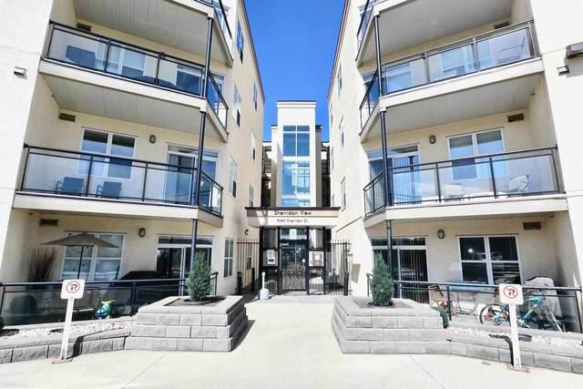 206 9940 Sherridon Drive, Fort Saskatchewan, AB T8L 4C9 (#E4243429) :: The Foundry Real Estate Company