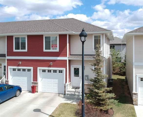 27-450 Mcconachie Way, Edmonton, AB T5Y 0S8 (#E4243465) :: Initia Real Estate