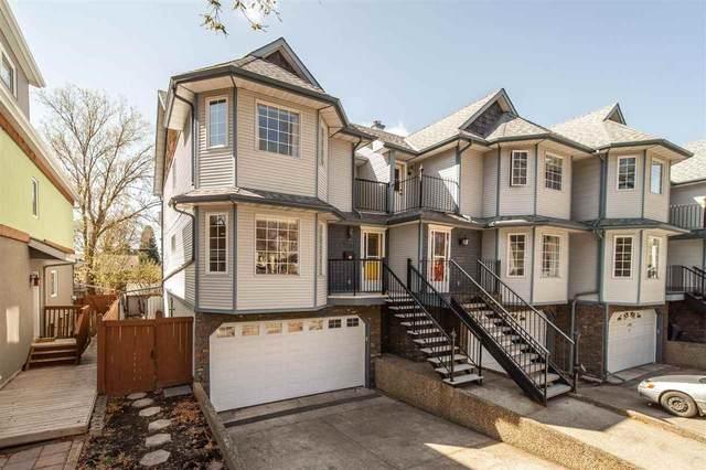 1 11105 University Avenue, Edmonton, AB T6G 1Y5 (#E4243504) :: Initia Real Estate