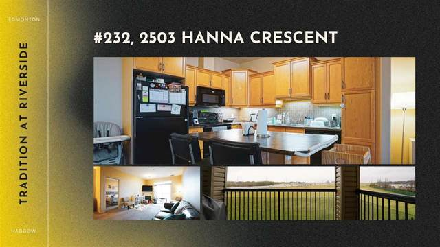 232 2503 Hanna Crescent, Edmonton, AB T6R 0H1 (#E4243508) :: Müve Team | RE/MAX Elite