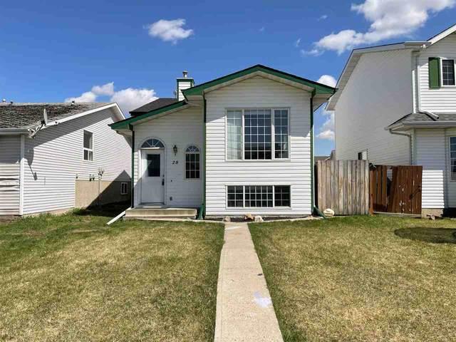 28 Gold Eye Drive, Devon, AB T9G 1V9 (#E4243517) :: Initia Real Estate