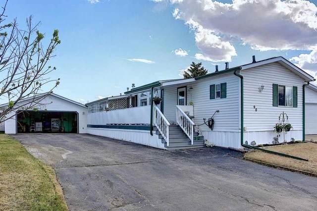 90 3400 48 Street, Stony Plain, AB T7Z 1S1 (#E4243535) :: Initia Real Estate