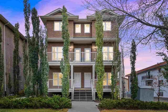 6 11913 103 Street, Edmonton, AB T5G 2R2 (#E4243589) :: Initia Real Estate