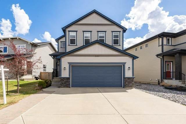 243 Secord Drive, Edmonton, AB T5T 4H4 (#E4243599) :: Initia Real Estate