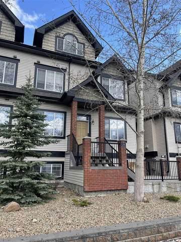 25 4821 Terwillegar Common, Edmonton, AB T6R 0C5 (#E4243625) :: Initia Real Estate