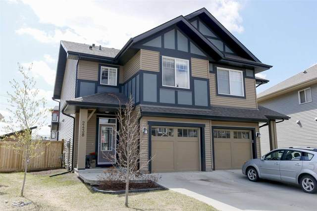 2438 Cassidy Way, Edmonton, AB T6W 3E2 (#E4243626) :: Initia Real Estate