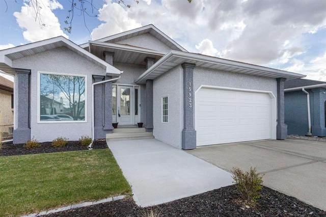 15923 58 Street, Edmonton, AB T5Y 2R5 (#E4243701) :: Initia Real Estate
