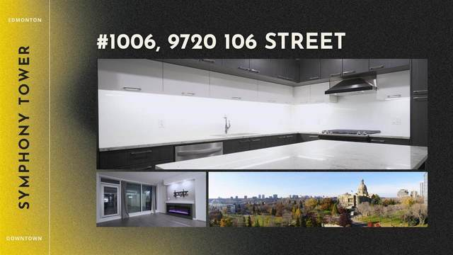 1006 9720 106 Street, Edmonton, AB T5K 0K8 (#E4243704) :: The Foundry Real Estate Company