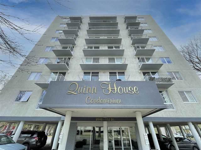 602 9940 112 Street, Edmonton, AB T5K 1L8 (#E4243713) :: Initia Real Estate