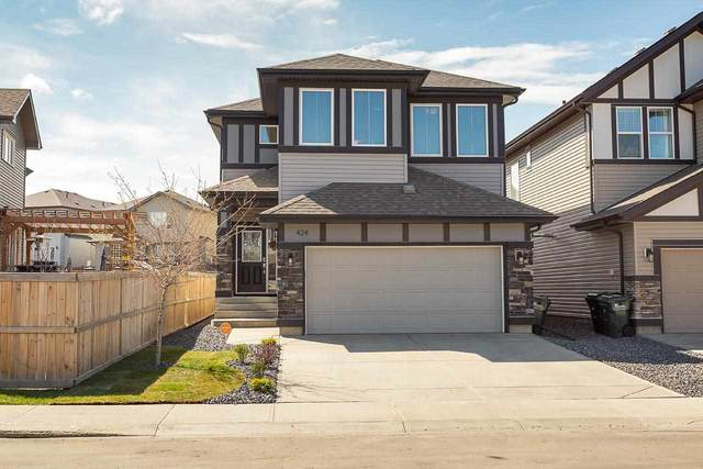 424 Still Creek Crescent, Sherwood Park, AB T8H 0S6 (#E4243757) :: The Foundry Real Estate Company
