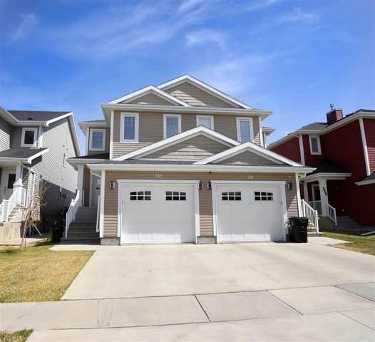 349 Simmonds Way, Leduc, AB T9E 0X3 (#E4243785) :: Initia Real Estate