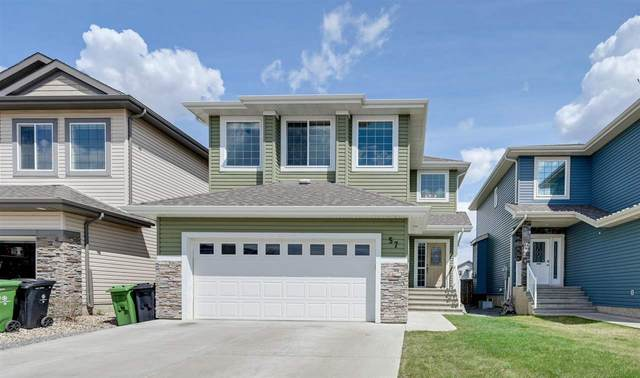 57 Westbrook Wynd, Fort Saskatchewan, AB T8L 0L1 (#E4243793) :: Initia Real Estate