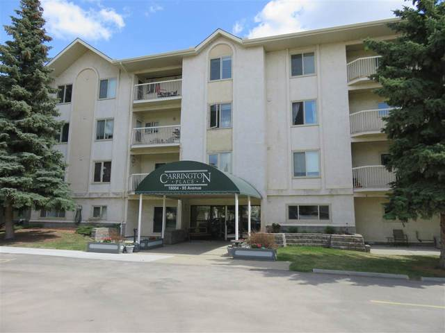 306 18004 95 Avenue, Edmonton, AB T5T 5W3 (#E4243885) :: Initia Real Estate