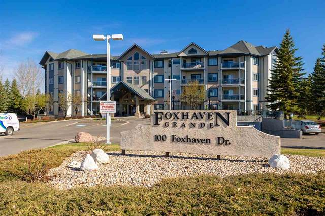 107 100 Foxhaven Drive, Sherwood Park, AB T8A 6B6 (#E4243899) :: The Foundry Real Estate Company