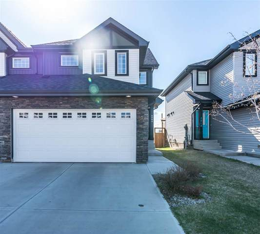 5812 66 Street, Beaumont, AB T4X 2A5 (#E4243903) :: The Foundry Real Estate Company