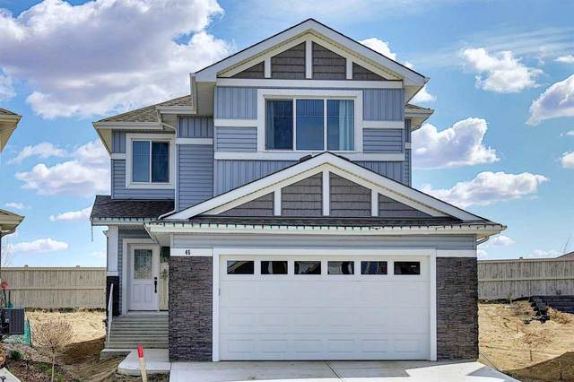 45 Wallace Point(E), Fort Saskatchewan, AB T8L 0W6 (#E4244009) :: Initia Real Estate