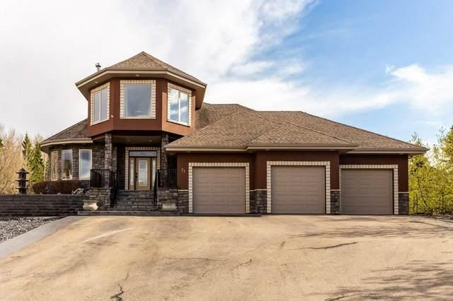 71 53217 RGE RD 263, Rural Parkland County, AB T7X 3G2 (#E4244067) :: Initia Real Estate