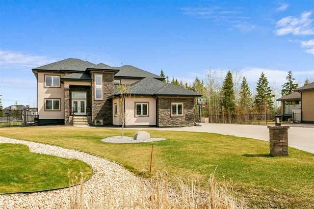 74, 53305 Range Road 273, Rural Parkland County, AB T7X 3N3 (#E4244102) :: Initia Real Estate