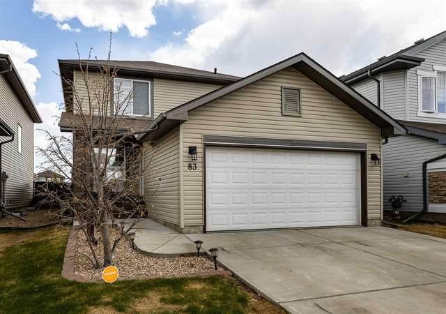 83 Sonora Crescent, Fort Saskatchewan, AB T8L 0G1 (#E4244108) :: Initia Real Estate
