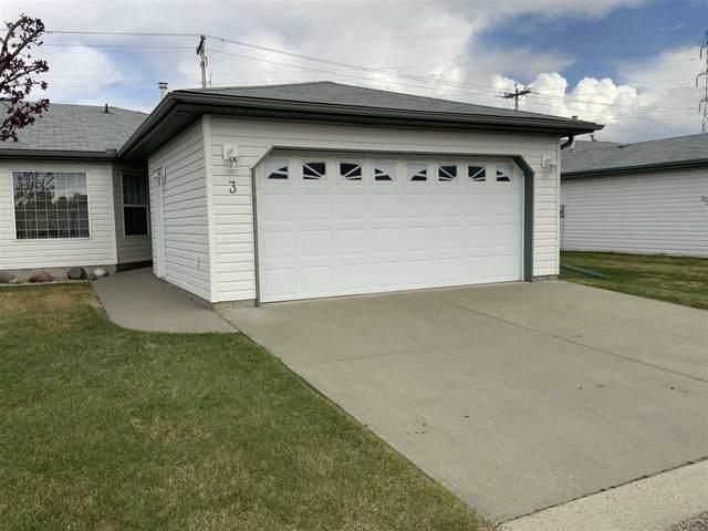 3 5714 50 Street, Wetaskiwin, AB T9A 3R3 (#E4244109) :: Initia Real Estate