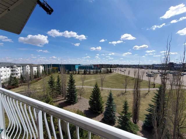 408 240 Spruce Ridge Road, Spruce Grove, AB T7X 0G5 (#E4244147) :: The Good Real Estate Company
