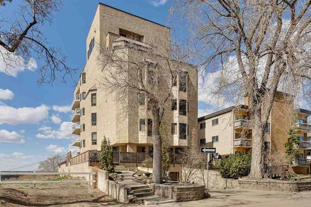 6 9734 111 Street, Edmonton, AB T5K 1J8 (#E4244222) :: Initia Real Estate