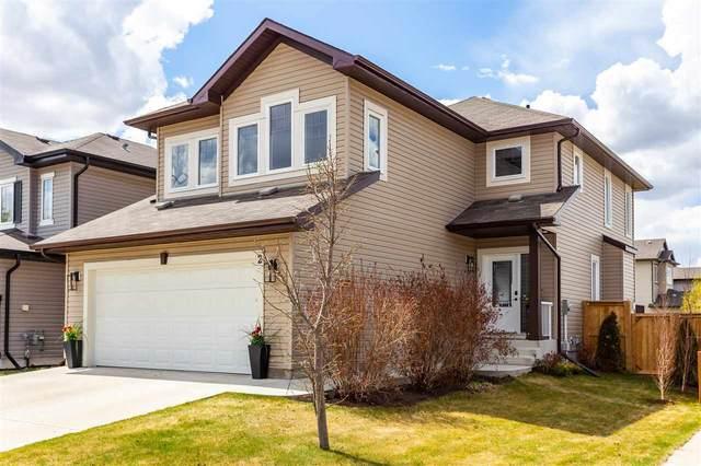 2 Canyon Road, Fort Saskatchewan, AB T8L 0H6 (#E4244293) :: Initia Real Estate