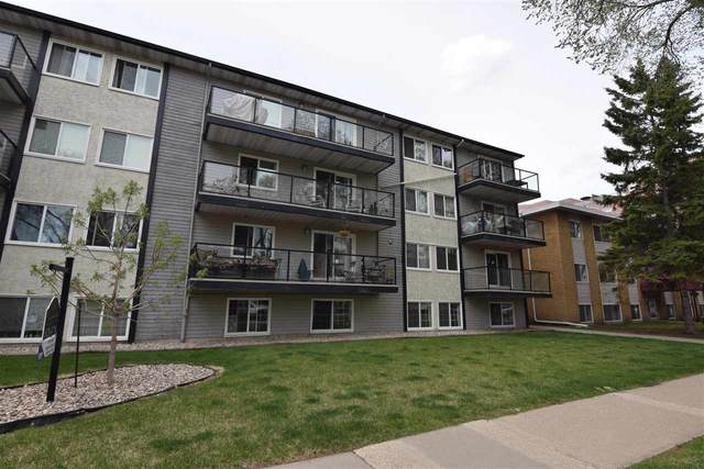 103 10326 117 Street, Edmonton, AB T5X 1X8 (#E4244357) :: RE/MAX River City