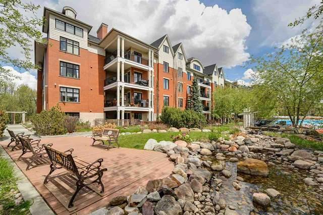 305 9819 96A Street, Edmonton, AB T6A 4A2 (#E4244592) :: The Good Real Estate Company