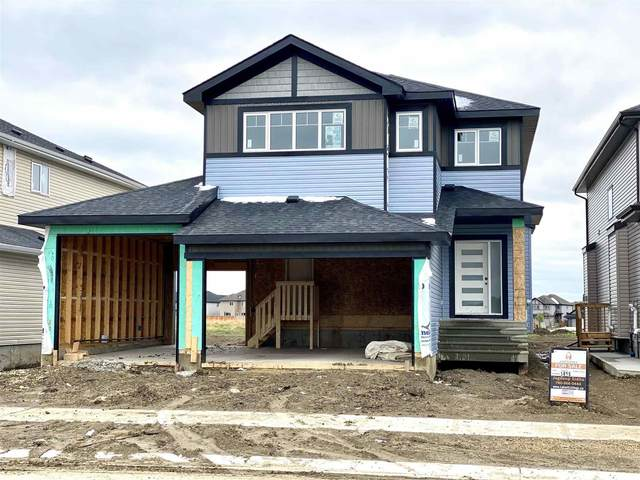 3205 Soleil Boulevard, Beaumont, AB T4X 2X8 (#E4245948) :: The Good Real Estate Company